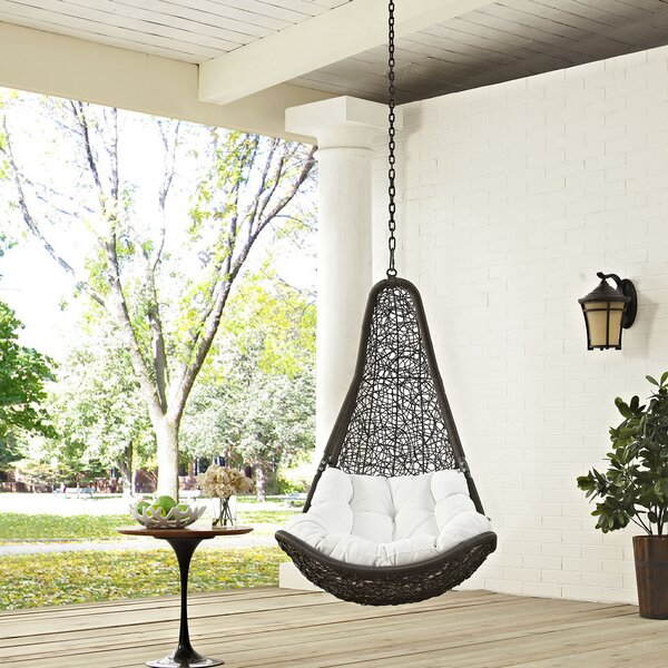 Gemmenne Swing Chair By World Menagerie by World Menagerie Cheap