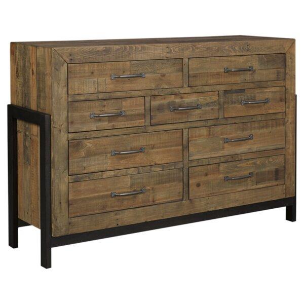 Gino 9 Drawer Dresser by Mistana