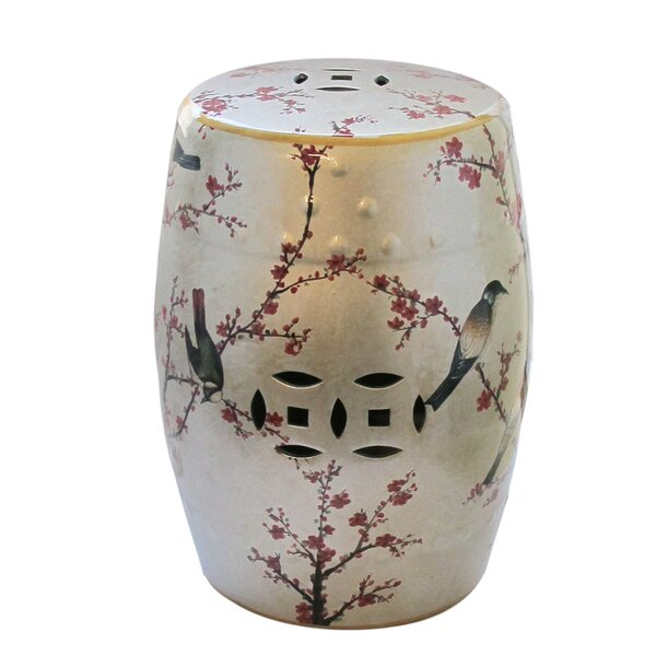 Buckner Garden Stool by World Menagerie