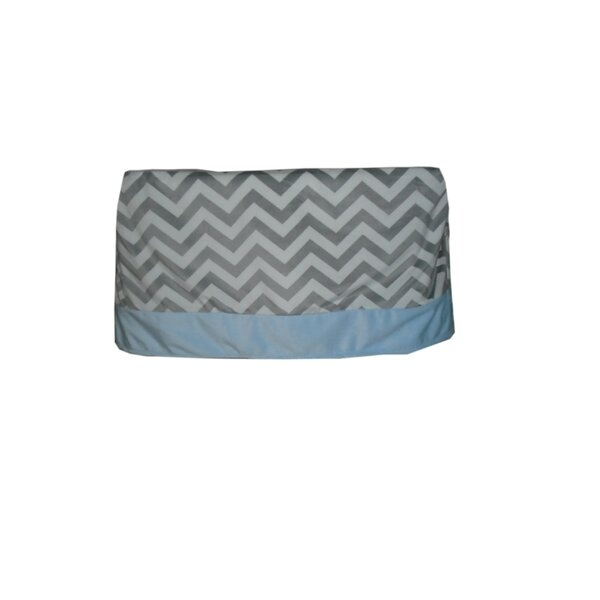 Minky Chevron Crib Skirt by Baby Doll Bedding
