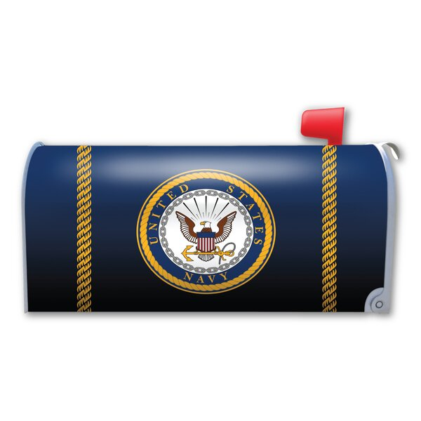 Navy Seal Magnetic Mailbox Cover by Magnet America