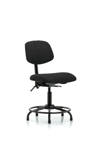 Ace Round Tube Base Ergonomic Office Chair by Symple Stuff