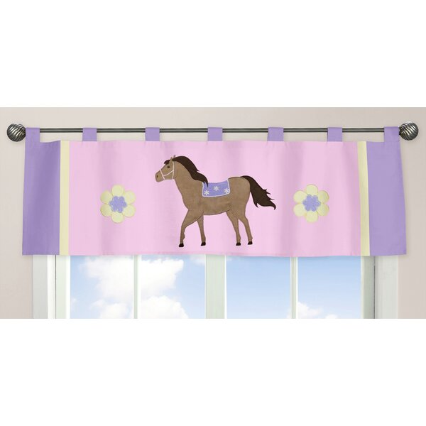 Pony 54 Curtain Valance by Sweet Jojo Designs