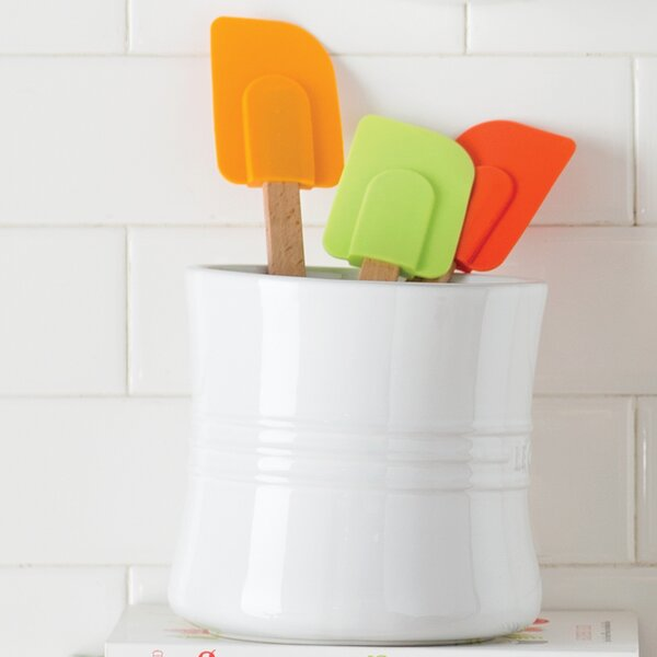Stoneware Utensil Crock by Le Creuset