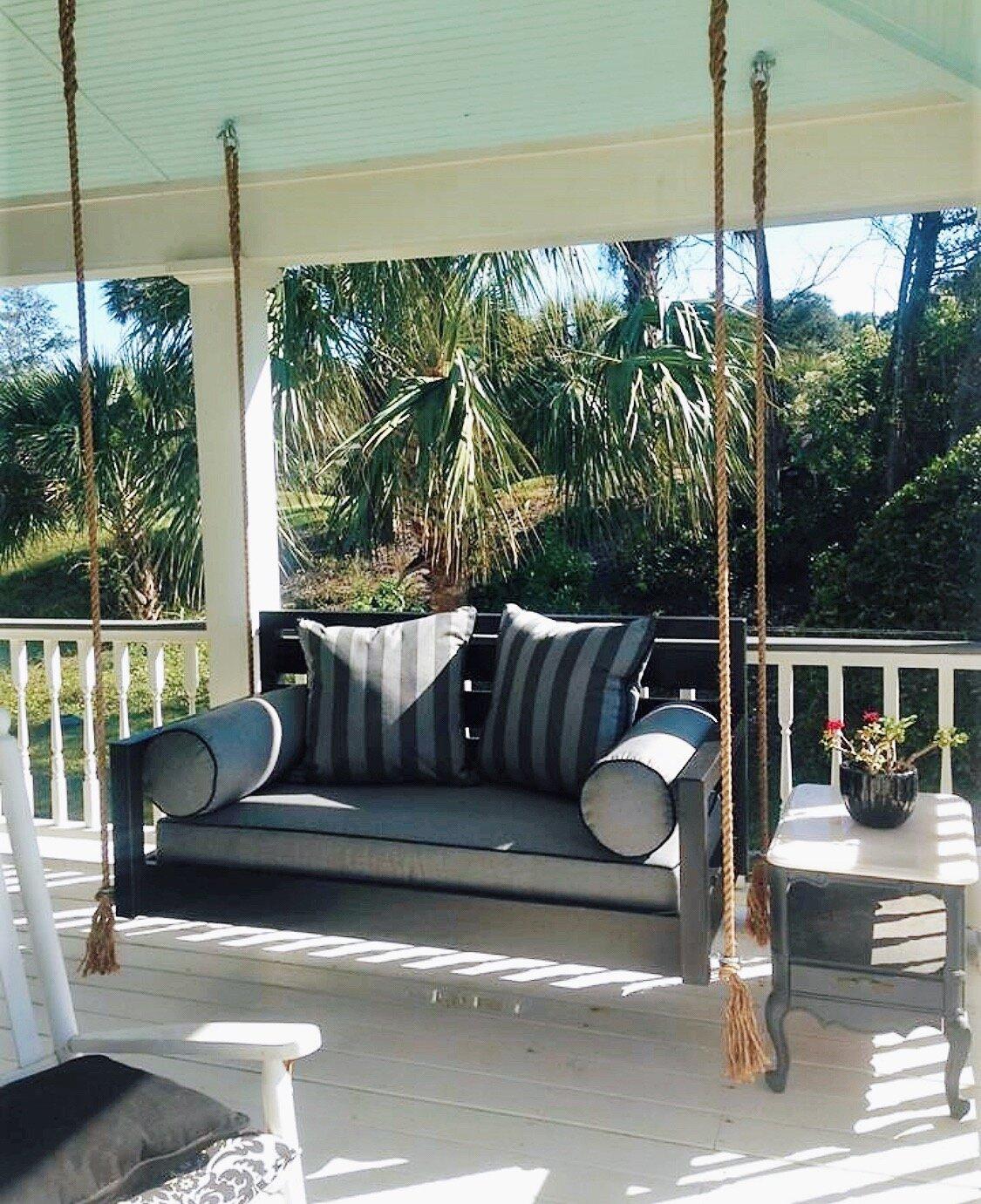 The Beautiful Beaufort Porch Swing