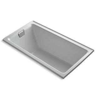 Inexpensive Tea-For-Two Alcove 66 x 36 Soaking Bathtub ByKohler