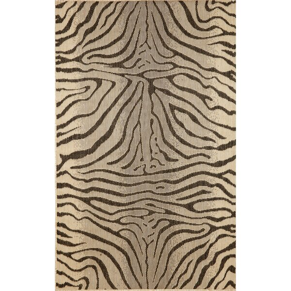 Lemanski Charcoal Indoor/Outdoor Area Rug by World Menagerie