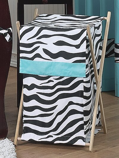 Zebra Laundry Hamper by Sweet Jojo Designs