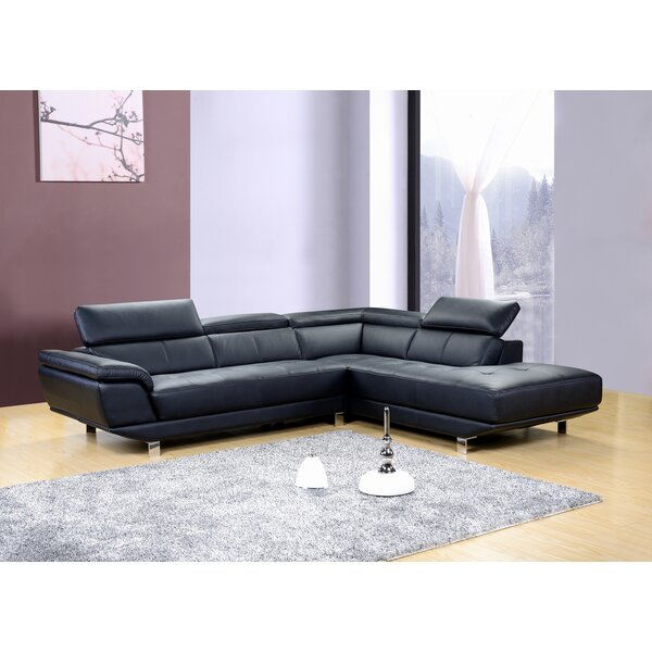 Dela Reclining Sectional by Hokku Designs