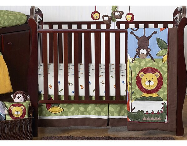 Jungle Time 11 Piece Crib Bedding Set by Sweet Jojo Designs