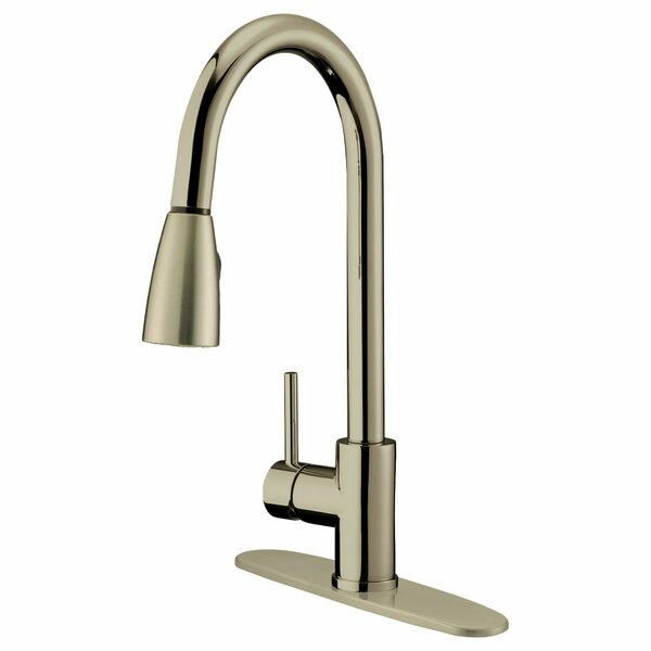 Pull Out Single Handle Kitchen Faucet by LessCare