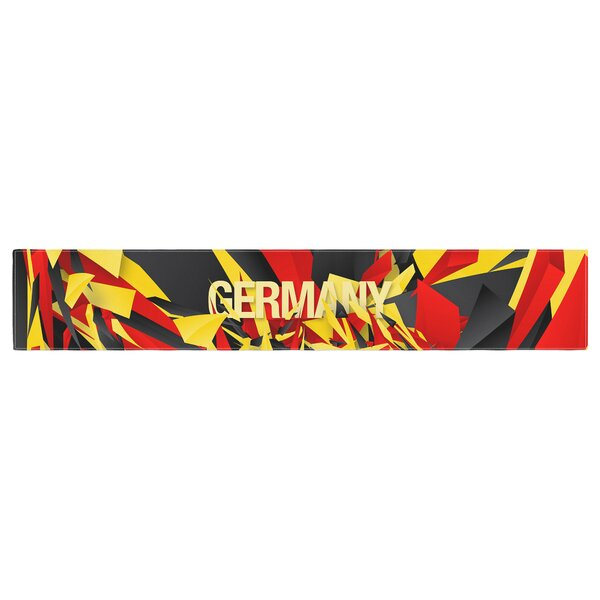 Danny Ivan Germany World Cup Table Runner by East Urban Home