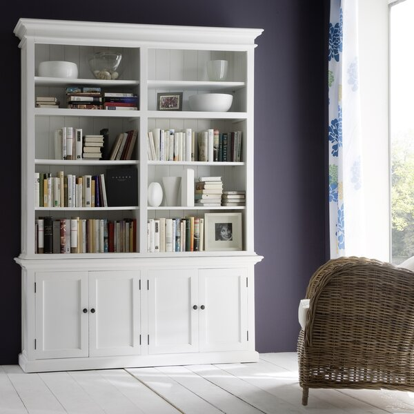 Fairmead Oversized Set Library Bookcase By Breakwater Bay