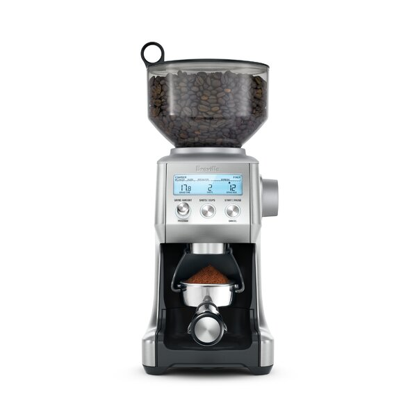 The Smart Pro Electric Conical Burr Coffee Grinder by Breville
