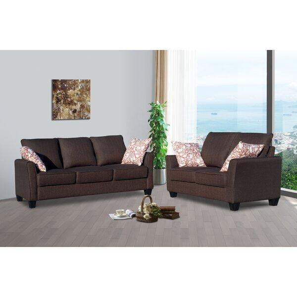 Bellamira 2 Piece Living Room Set by Winston Porter