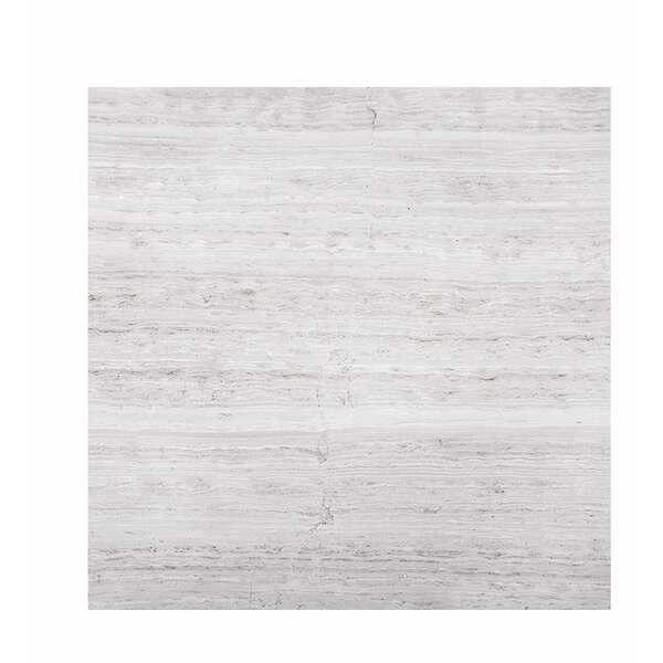 Wood Grain 18 x 18 Marble Field Tile in Gray by Parvatile