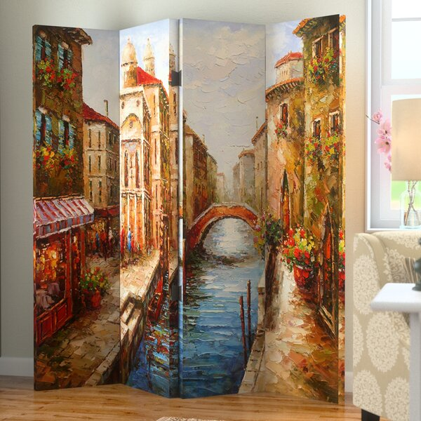 Donellan 4 Panel Room Divider by Andover Mills