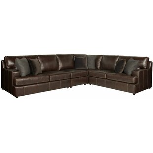 Winslow Leather Sectional by Bernhardt