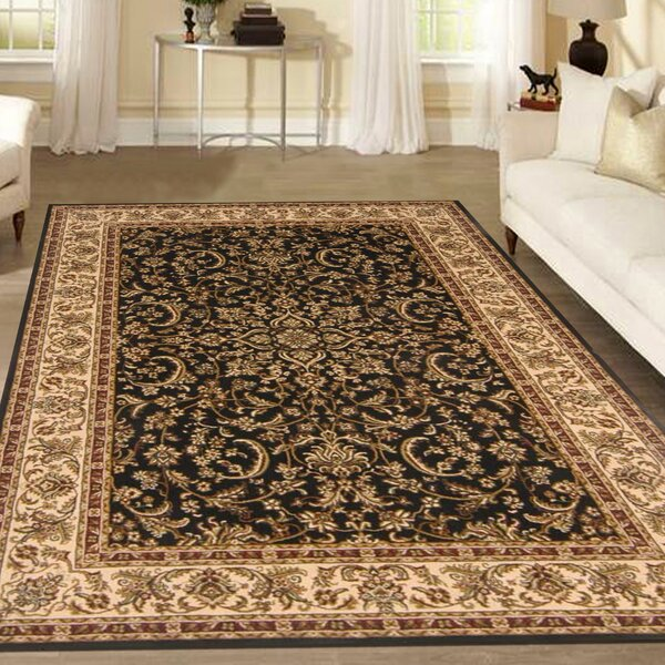 Jimtown Black Area Rug by The Conestoga Trading Co.