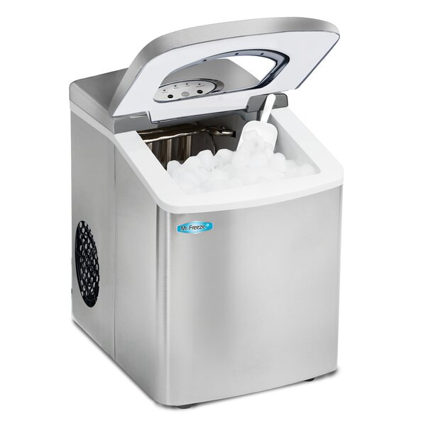 Mr. Freeze 26 lb. Daily Production Portable Ice Maker by Elite by Maxi-Matic