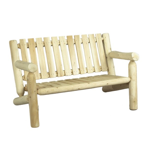 Chilton Wood Garden Bench by Loon Peak