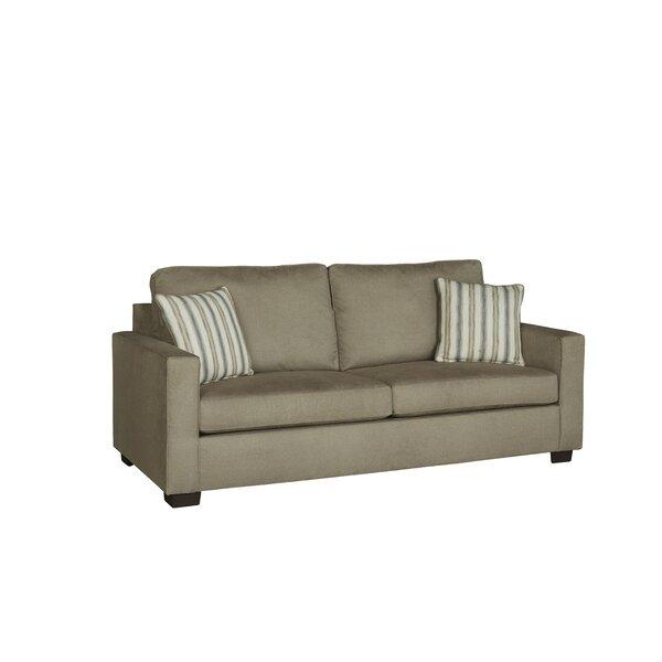 Pratik 82'' Square Arm Sofa Bed By Gracie Oaks