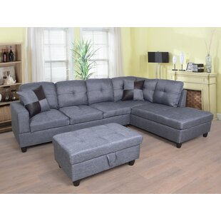 Massillon Sectional with Ottoman