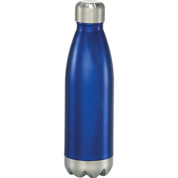 Charles Insulated Hot or Cold 17 oz. Stainless Steel Water Bottle by Latitude Run