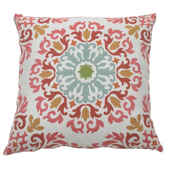 Molto Medallion Indoor/Outdoor Throw Pillow