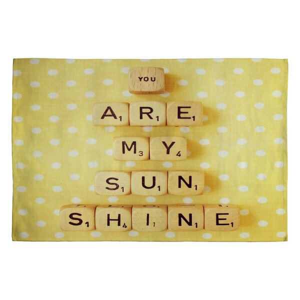 Happee Monkee You Are My Sunshine Novelty Rug by Deny Designs
