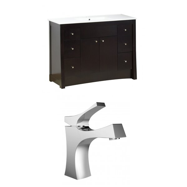 Kimbrell Floor Mount 48 Single Bathroom Vanity Set by Royal Purple Bath Kitchen