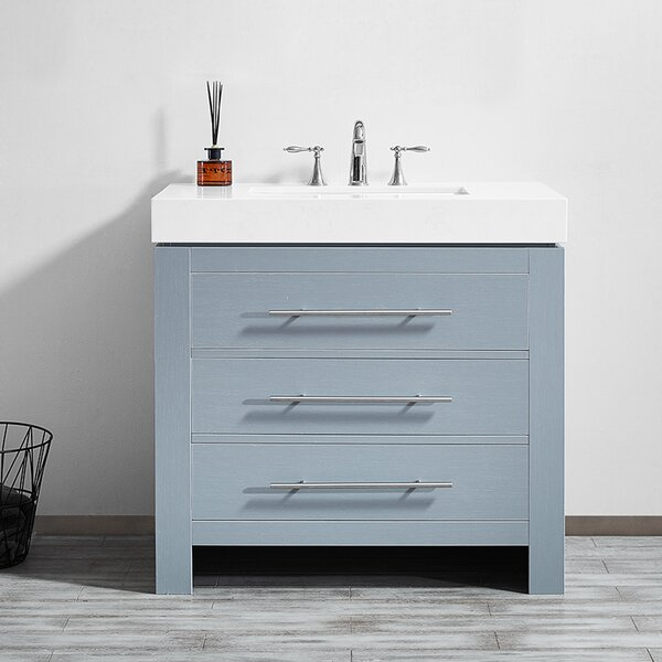Neva 36 Single Bathroom Vanity Set by Wrought Studio