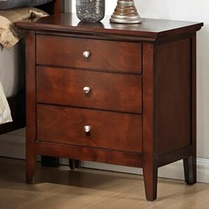 3 Drawer Nightstand by LYKE Home