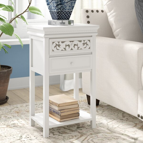 Review Nagel End Table With Storage