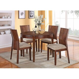 Shafer 5 Piece Dining Set By Loon Peak