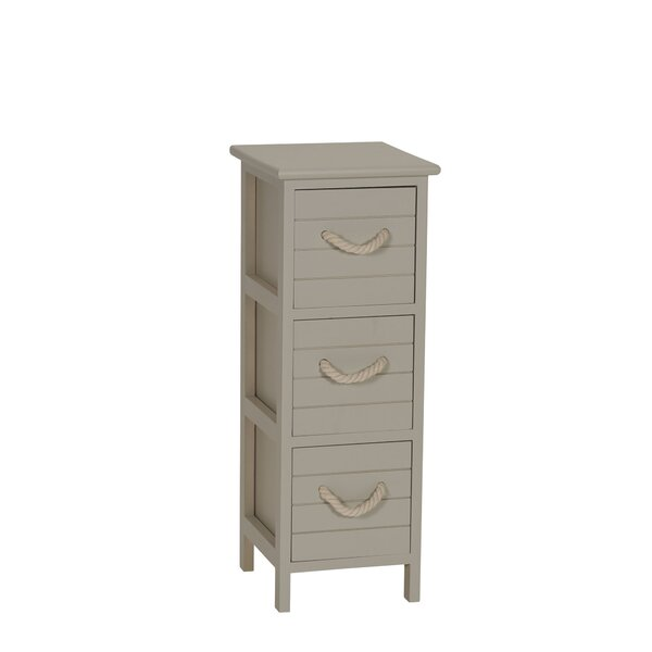 Covell 3 Drawer Accent Chest By Highland Dunes