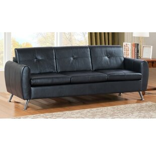 Jahiem Center Button Tufted 3-Seat Sofa Orren Ellis