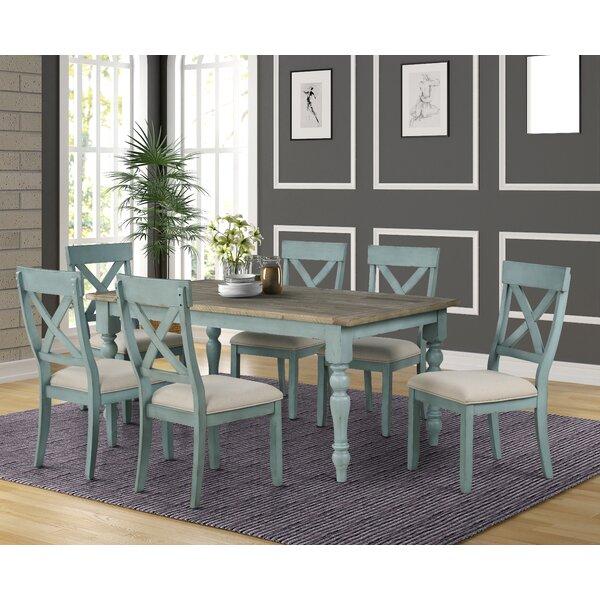 Cierra 7-Piece Dining Set by Ophelia & Co.