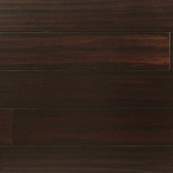 5 Engineered Strand Woven Bamboo  Flooring in Roasted Chestnut by Easoon USA