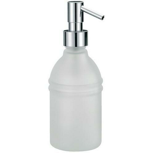Maniscalco Frosted Glass Pump Soap & Lotion Dispenser by Latitude Run