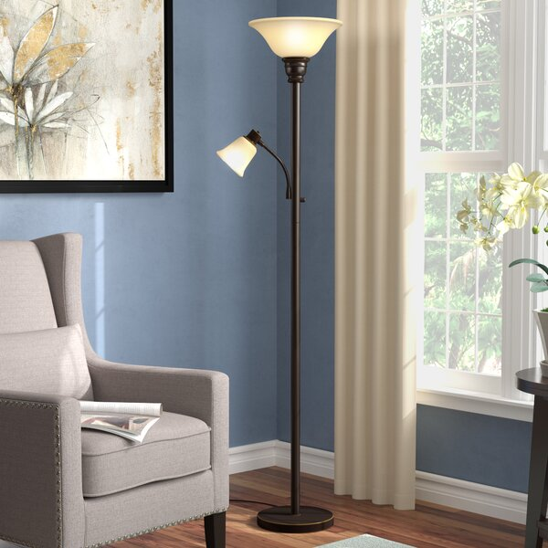 Smith 71 Floor Lamp by Alcott Hill