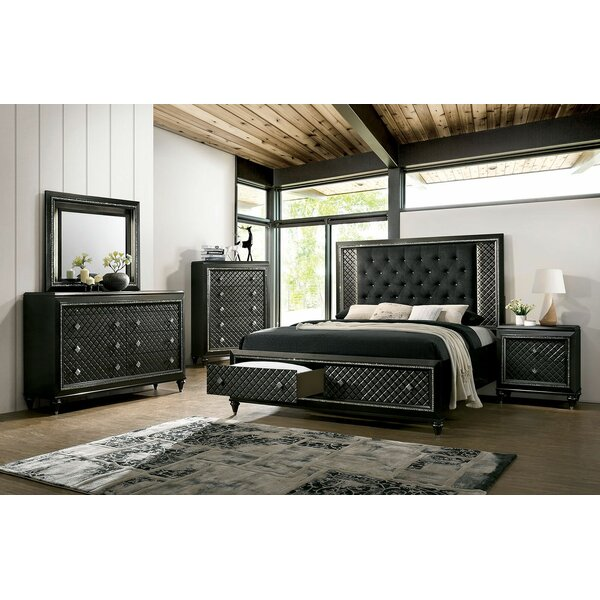 Francesca Platform Configurable Bedroom Set by Rosdorf Park