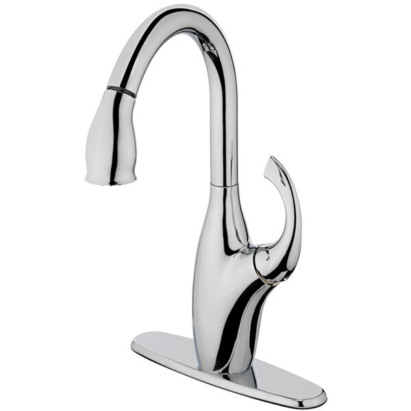 Pull Down Single Handle Kitchen Faucet by Estora