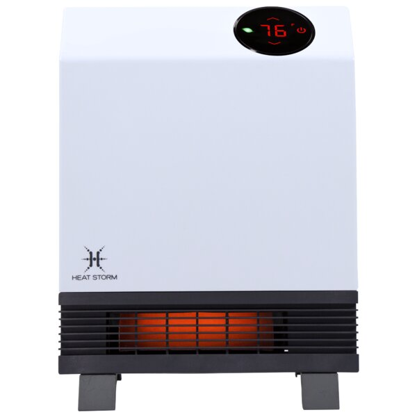 Wave 1,000 Watt Electric Infrared Wall-Mounted Heater by Heat Storm