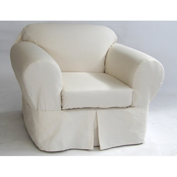 Box Cushion Armchair Slipcover by Darby Home Co