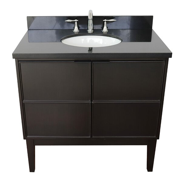 Elysee 37 Single Bathroom Vanity Set by Gracie Oaks