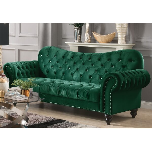 Rogers Chesterfield Sofa By Everly Quinn