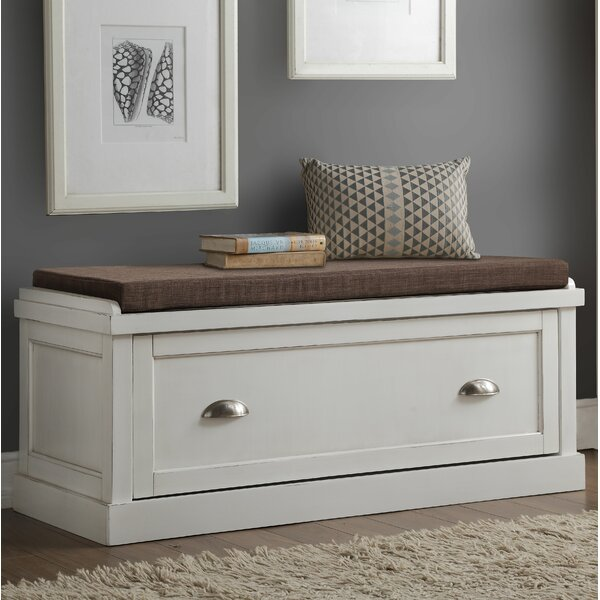 Balduíno Wood Storage Bench by Darby Home Co