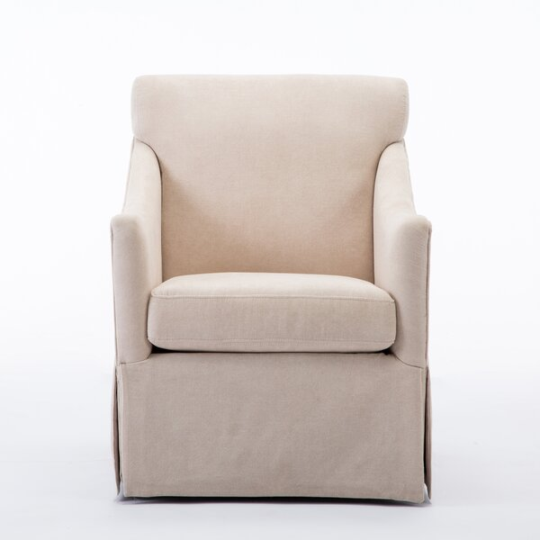 Grier Swivel Armchair by Alcott Hill