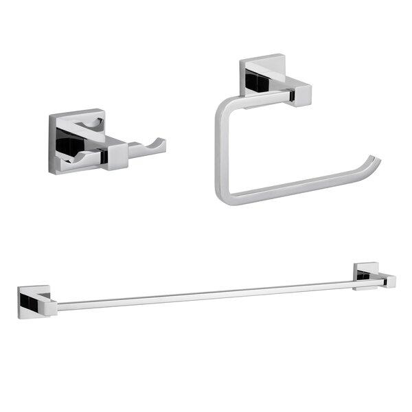 Zane 3 Piece Bathroom Hardware Set by Maykke